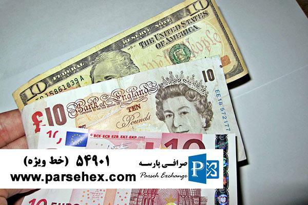 افزایش عرضه ارز در صرافی ها