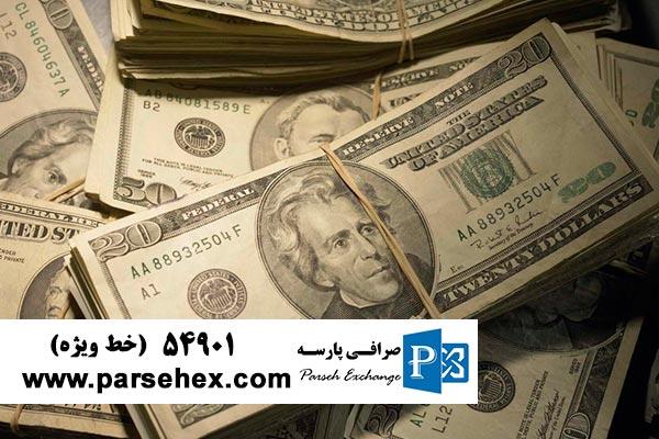 کمبود عرضه دلار در صرافی ها